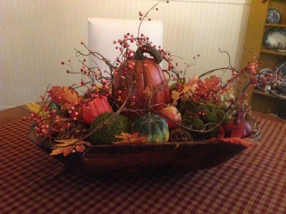 primitive dough bowl  fall and halloween pinterest