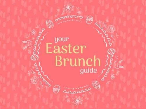 Edit This Pretty And Modern Easter Card A Light Pink Background