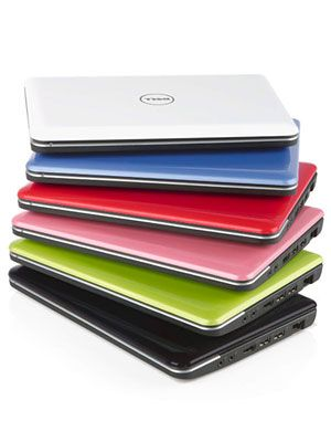 The Inspiron Mini 10 Netbook is both stylish and portable enough to take to his or her classes! It comes in  7 colors and 5 patterns. #netbook #color #laptops
