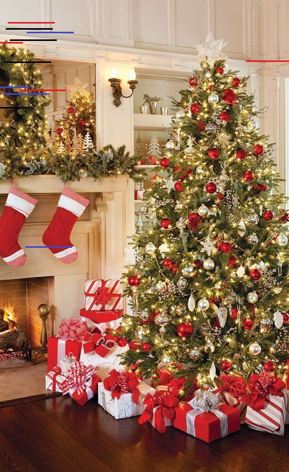 Christmas Tree Ideas 2018 The Magic Of A White Christmas Tree