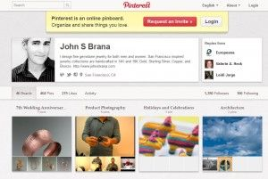 How Your Jewelry Business can Benefit from Pinterest    Pinterest is a social networking and social publishing website that is primarily based on photographs. Each user on Pinterest has a theme board where he or she can post things found around the web, which are represented through images. In addition to pictures, users can also pin videos, monetary gifts, and discussion groups.