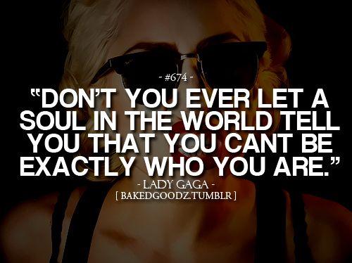 Lady Gaga inspiration :)