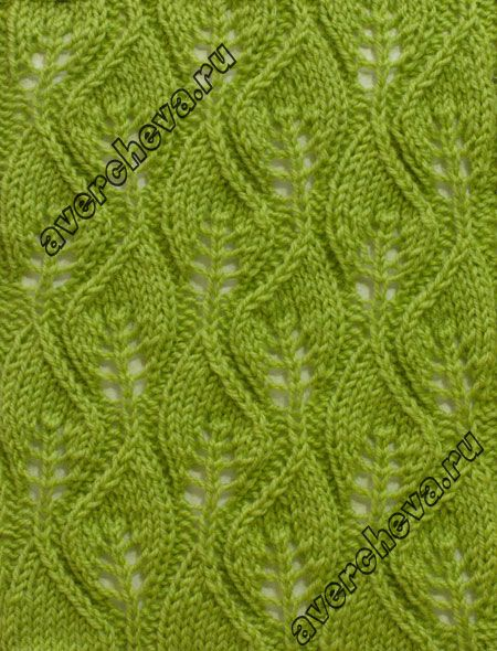 Knitting Stitch Patterns Leaf : Leaves, Knitting stitches and Lace patterns on Pinterest