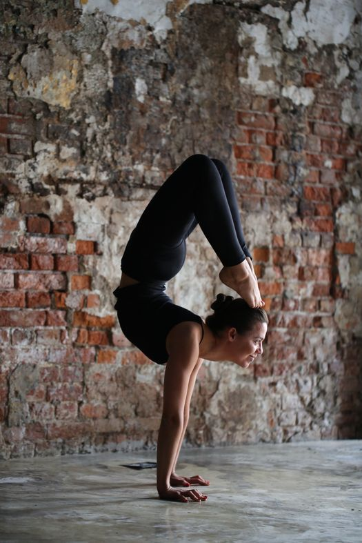Vrschikasana Or Scorpion Pose