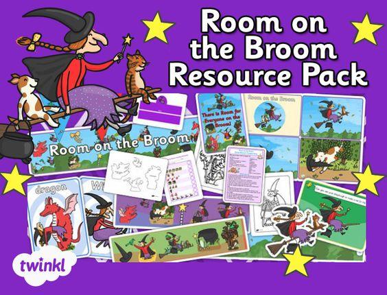 Childminder Room on the Broom Resource Pack - twinkl