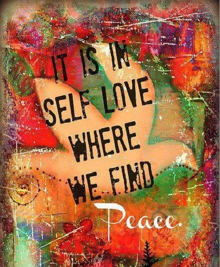 ☮ American Hippie Art ☮ Self love
