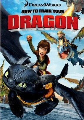How to Train Your Dragon -2010 An enjoyable coming-of-age fable.