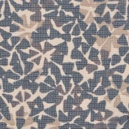 Floral silhouettes look painted across lightweight silk chiffon. Black, coffee, beige and taupe, it's a go-with-anything neutral wonder. Perfect for work blouses and dresses. #moodfabric