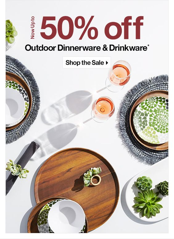 table setting images - green