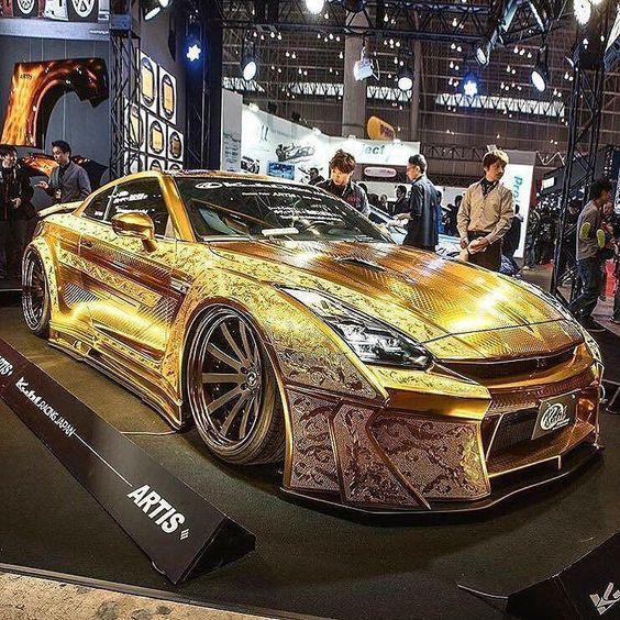 Gold GTR #gold #nissangtr #gtr