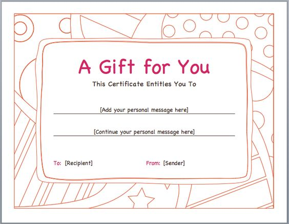 Business vouchers are basically for newly established enterprises - gift voucher template word free download