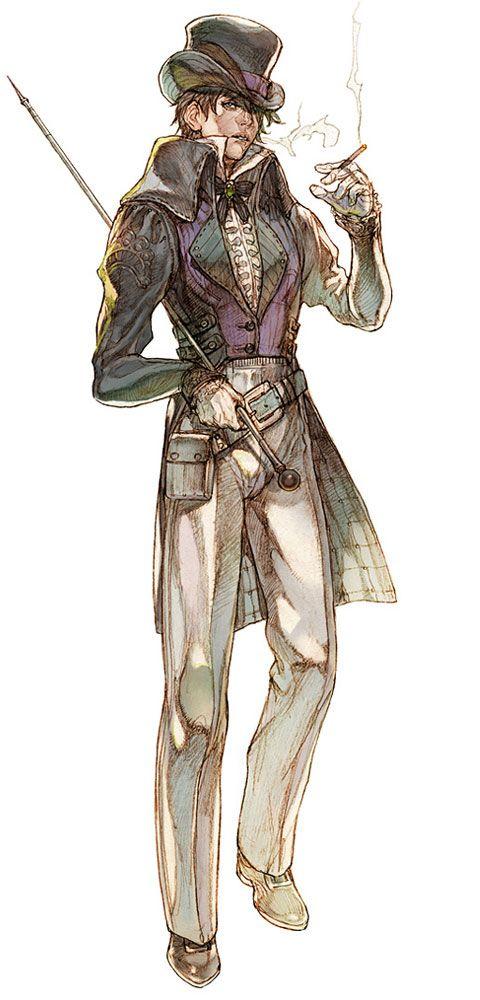 Granado Espada.Dapper steampunk gentleman.