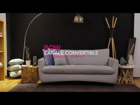 Canape Convertible La Maison Du Convertible Bow Canape Tissu