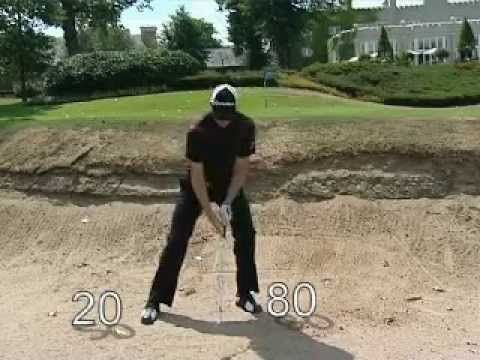 Plugged Bunker Tip From Justin Rose - YouTube