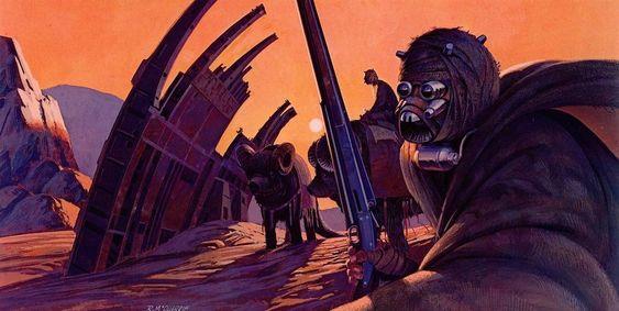 Povo do Deserto, Star Wars, Ralph McQuarrie