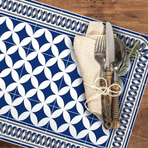 Set De Table Carreaux De Ciment Louison Carreau De Ciment