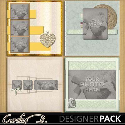 Digital Scrapbooking Kits | Happy Forever 12x12 Album 2-(carolnb) | Celebrations, Heritage, Love, Memories, Vintage, Weddings | MyMemories