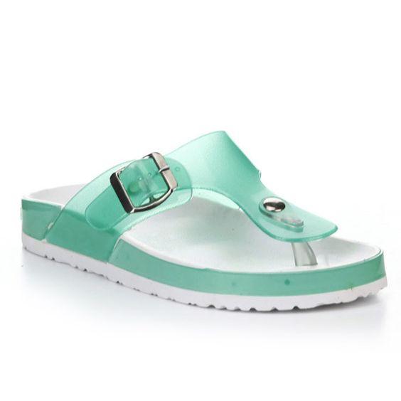 Cape Robbin Women's Aixa-JH-1 Stud Flip Flop Sandals