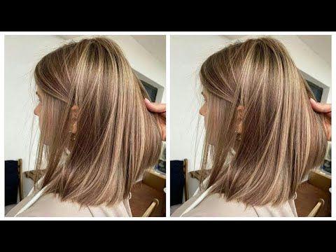 ديري هذا الميلونج فوق شعر كحل بصبيغة فقط تحصلي على عسلي فاتح لاكولاغ هبال مثل الصورة تماما Youtube Hair Styles Hair Beauty