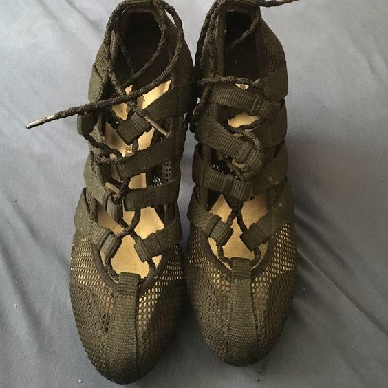 Black high hills shoes Never wear them Shoes Heels