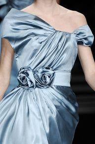 Weddings   50 Shades of Blue? - Elie Saab - #weddings #designer #bridal #blue