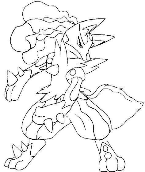Lucario Coloring Page Free Pokemon Coloring Pokemon Coloring Pages Moon Coloring Pages