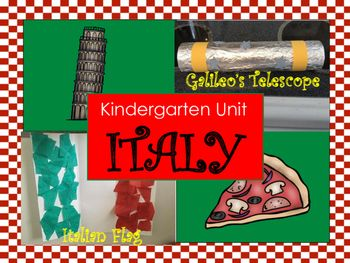 Number Names Worksheets teaching resources for kindergarten : Around the World: Kindergarten Unit: Italy | About Italy ...