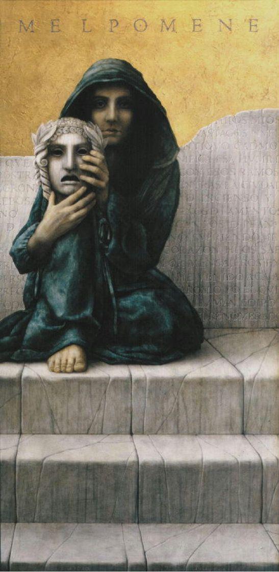 Melpomene by José Luis Muñoz Luque: