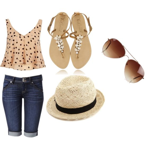 """Verão"" by juemaciel on Polyvore"
