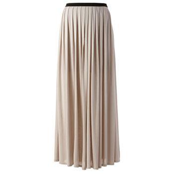 lc conrad pleated maxi skirt kohls lc