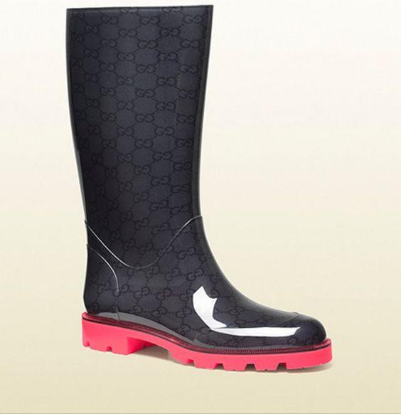 I modelli più trendy di Stivali da Pioggia: Burberry Hunter Gucci