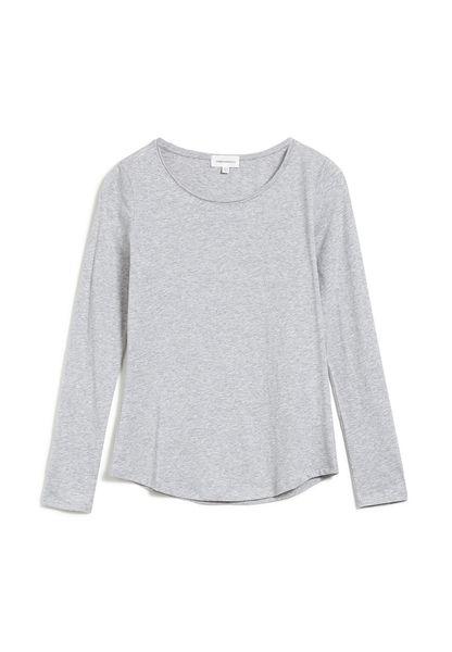 bio baumwolle t-shirt weiß damen slim