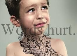 When a simple word,means everything.  Stop the pain,refrain your mouth