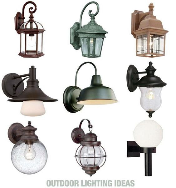 some of our favorite wall mounted outdoor light fixtures lighting