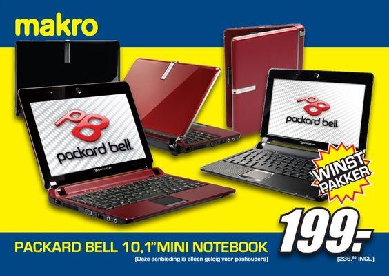 Ontwerp Packard Bell / Makro billboard. Plaatsing door heel Nederland.