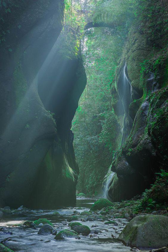 Yufugawa Gorge, Oita/由布川渓谷、大分