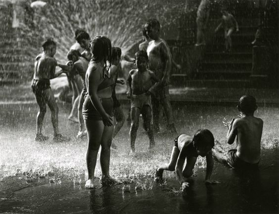 "June 21: Summer Solstice.  ""Street Beach,"" 1946, by Harold Roth, PR 195 (©1991 Harold Roth/ Greenburg Gallery), NYHS image #83569d."