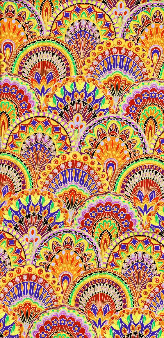 American Hippie Psychedelic Art Design Wallpaper Art