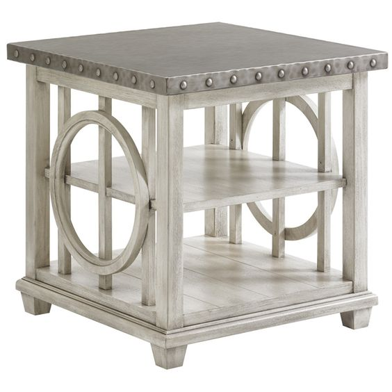 Lexington Oyster Bay Lewiston Square End Table