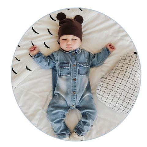 Baby Toddler Boy Girl Black White Graffiti Romper Jumpsuit Playsuit Harem Outfit