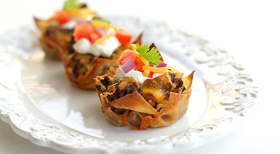 The Munchies: Taco Cupcakes