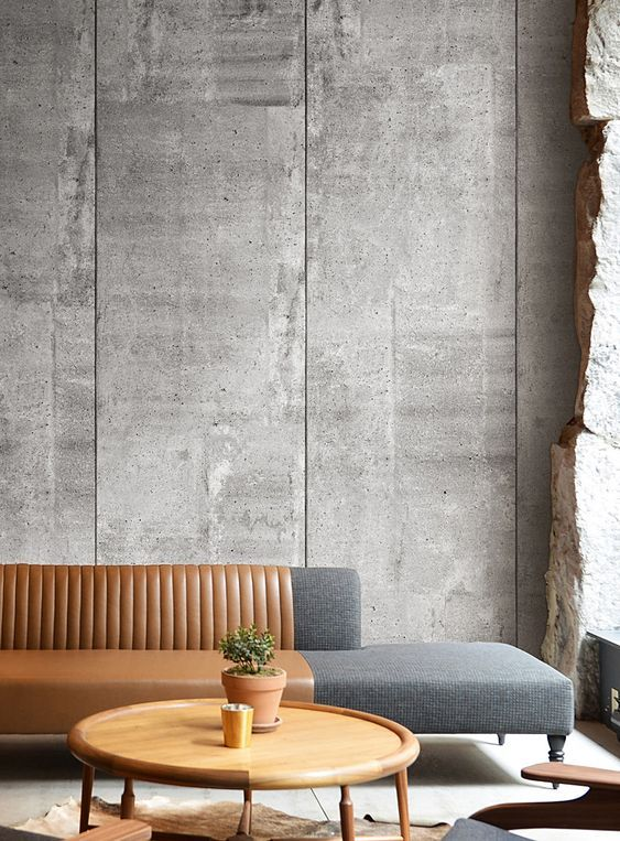 Inspiration Simons Interior Design Design Create Industrial Raw Materials Neutral Concrete Walls Interior Concrete Interiors Concrete Wallpaper #wall #texture #for #living #room