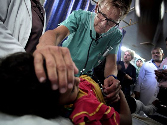 Israel has barred a Norwegian doctor from entering the Gaza Strip through its territory after he severely criticised its military campaign while volunteering at a Gaza hospital during the devastating conflict over the summer.