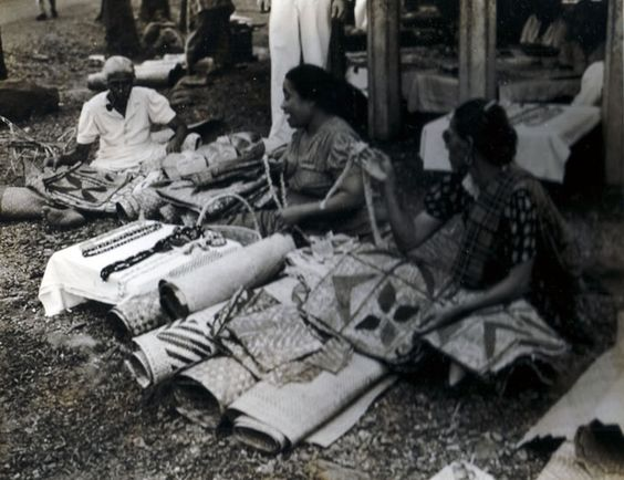 Selling Handicrafts 1944