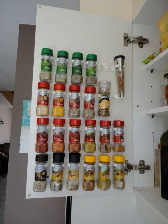 leuk systeem om kruiden ordelijk op te bergen: