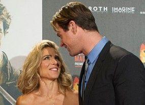 El piropo romántico de Chris Hemsworth a Elsa Pataky en la première de Madrid