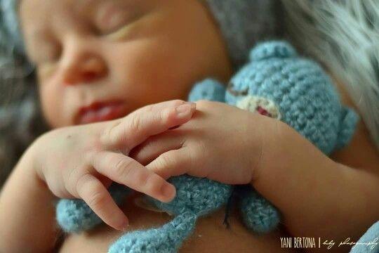 Newborn props Osito dormilon by Naticolucci