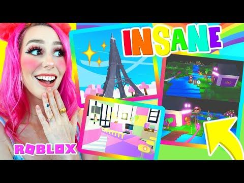 These Are The Most Unbelievable Builds Ever In Adopt Me Roblox Adopt Me Builds Youtube In 2020 Roblox What Is Roblox Adoption