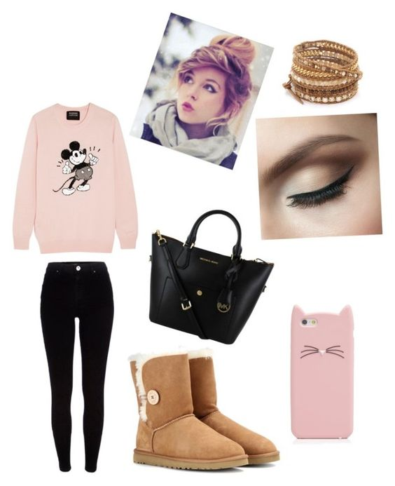 Untitled #7 by lucie-hope on Polyvore featuring polyvore, moda, style, Markus Lupfer, River Island, UGG Australia, Chan Luu and Kate Spade