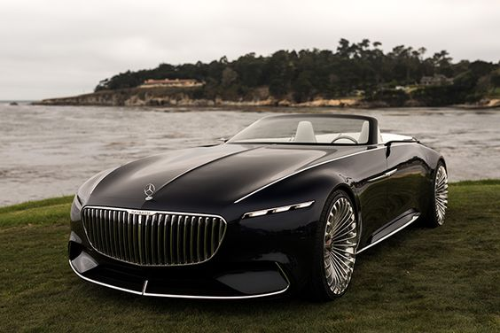 Luxury Car Vision >> Head Turning Car Vision Mercedes Maybach 6 Cabriolet Thatdope